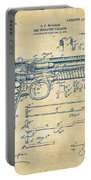1903 Mcclean Pistol Patent Artwork - Vintage Portable Battery Charger