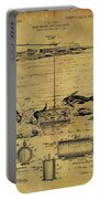 1904 Fishing Decoy Patent Portable Battery Charger