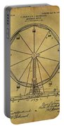 1907 Ferris Wheel Patent Portable Battery Charger