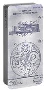 1908 Pocket Watch Patent Blueprint Portable Battery Charger