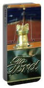 1911 Ford Model T Runabout Hood Ornament Portable Battery Charger