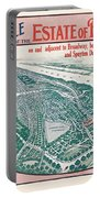 1915 Bronx Lots Sale Flyer Portable Battery Charger