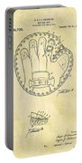 1916 Baseball Glove Patent Portable Battery Charger