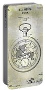 1916 Pocket Watch Patent Portable Battery Charger