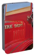 1919 Volunteer Fire Truck Portable Battery Charger