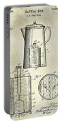 1921 Coffee Pot Patent Portable Battery Charger