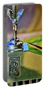 1921 Rolls-royce Silver Ghost Phaeton Hood Ornament Portable Battery Charger