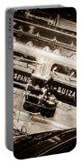 1924 Hispano-suiza H6b Dual  Cowl Sport Phaeton Engine Emblem -0258s Portable Battery Charger