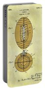 1925 Football Patent Portable Battery Charger
