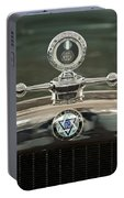 1926 Dodge Woody Wagon Hood Ornament Portable Battery Charger