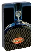 1927 Bugatti Replica Hood Ornament Portable Battery Charger