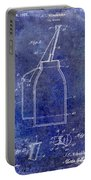1927 Oil Can Patent Blue Portable Battery Charger