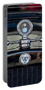1928 Dodge Brothers Hood Ornament Portable Battery Charger