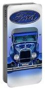 1928 Ford Tudor Sedan 'head On' Portable Battery Charger