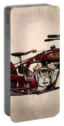 1928 Indian Motorcycle Portable Battery Charger
