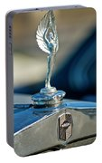 1928 Nash Coupe Hood Ornament Portable Battery Charger