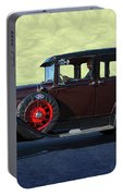 Historical Ford 4 Door Sedan Portable Battery Charger