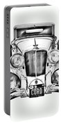 1929 Cord 6-29 Cabriolet Antique Car Illustration Portable Battery Charger