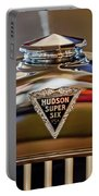 1929 Hudson Cabriolet Hood Ornament Portable Battery Charger by Jill Reger