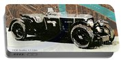 1930 Bentley 4.5 Litre Over New Orleans Old Map Portable Battery Charger