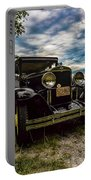 1930 Chevy On The Shore Of Higgins Lake Portable Battery Charger