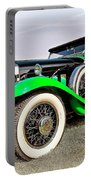 1930 Willys Knight 66b-plaidside Portable Battery Charger