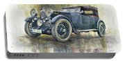 1932 Lagonda Low Chassis 2 Litre Supercharged Front Portable Battery Charger