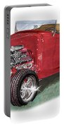 1932 Ford Hi-boy Hot Rod Portable Battery Charger