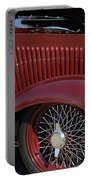 1932 Ford Hot Rod Wheel Portable Battery Charger