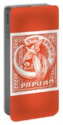 1932 Papua New Guinea Bird Of Paradise Postage Stamp Portable Battery Charger