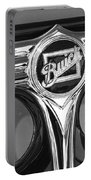 1933 Buick Victorian Emblem B And W Portable Battery Charger