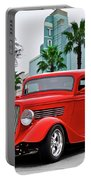 1933 Ford 'three Window' Coupe II Portable Battery Charger