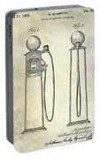 1933 Gas Pump Patent Portable Battery Charger