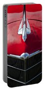 1933 Oldsmobile Hood Ornament Portable Battery Charger