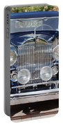 1933 Packard 12 Convertible Coupe Portable Battery Charger by Jill Reger