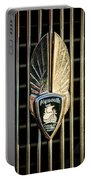 1934 Plymouth Emblem Portable Battery Charger