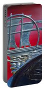 1934 Plymouth Hood Ornament 2 Portable Battery Charger