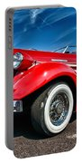 1935 Auburn Speedster 6895 Portable Battery Charger