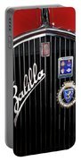 1935 Fiat Balilla Sport Spider Grille Portable Battery Charger