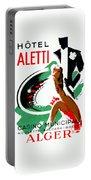 1935 Hotel Aletti Casino Algeria Portable Battery Charger
