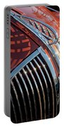 1935 Plymouth Hood Ornament Portable Battery Charger