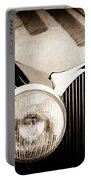 1936 Bugatti Type 57s Corsica Tourer Grille Emblem -1673s Portable Battery Charger