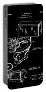 1936 Toilet Bowl Patent Black Portable Battery Charger