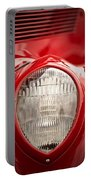 1937 Ford Headlight Detail Portable Battery Charger