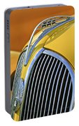 1937 Plymouth Hood Ornament 2 Portable Battery Charger