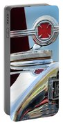 1938 American Lafrance Fire Truck Hood Ornament Portable Battery Charger