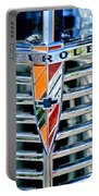 1939 Chevrolet Coupe Grille Emblem Portable Battery Charger