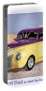 1939 Ford Deluxe Street Rod Portable Battery Charger
