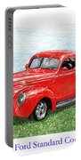 1939 Ford Standard Coupe Portable Battery Charger