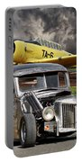 1940 Ford Rat Rod Pickup IIi Portable Battery Charger